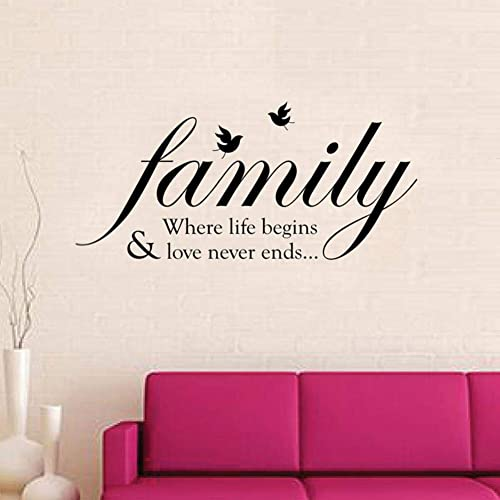 Wall Quotes For Living Room Amazoncouk
