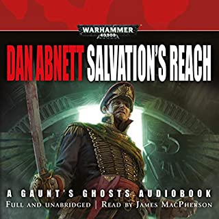 Salvation's Reach audiobook cover art
