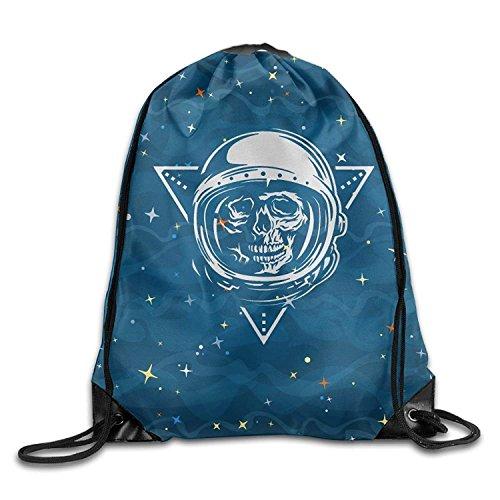 perdus dans l'espace Dead Astronaute en Spacesuit Tendance Corde de Cordon de Serrage Sac à Dos Sackpack