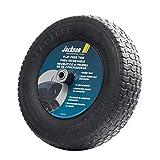 Jackson FFTKBCC Flat Free Wheelbarrow Tire with Knobby Tread, 8-Inch, Black