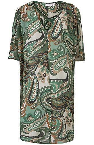 Masai Clothing Tunika mit Paisleymuster, Grün Gr. Medium, Sge