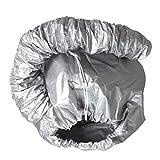 zhibeisai Cap Tratamiento de Secado de Aire Perm fácil Utilice el Pelo del Sombrero de enfermería portátil Secador de Pelo Tinte Caliente Modelado Gris