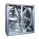 FANS LHA Extractor Comercial Industrial, Ventilador Extractor 300 Mm, Potente, 380 V, Bajo Ruido, Almacén, Comedor, Garaje, Cocina