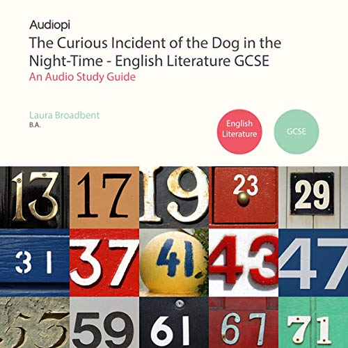 Page de couverture de The Curious Incident of the Dog in the Night-Time English Literature Guide
