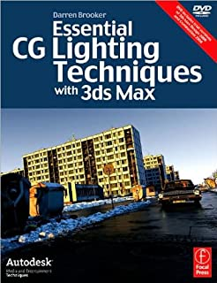 Essential CG Lighting Techniques with 3ds (text only) 3rd (Third) edition by D.B.CH.A.C.Hall Digital.
