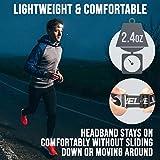 foxelli headlamp rechargeable