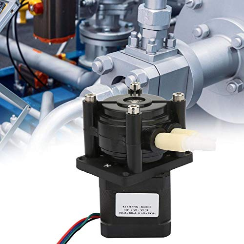 DC Stepper Motor Peristaltische Vloeibare Pomp Doseerpomp voor Laboratorium Analytische 6-30V