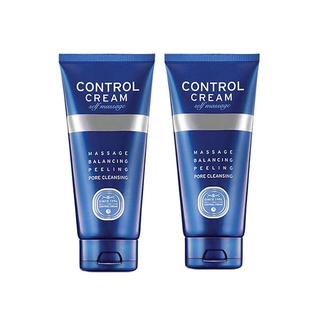 ピアそれぞれ独立したチャムジョンコントロールクリームセルフマッサージ150ml x 2本セット、Charmzone Control Cream Self Massage 150ml x 2ea Set [並行輸入品]