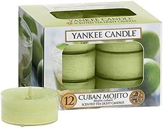 Yankee Candle Cuban Mojito 12 Scented Tea Lights