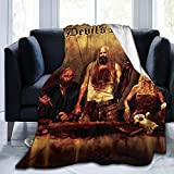 DKX Devils Rejects Ultrasoft Micro Fleece Blanket for Bed Car Camp Couch Cozy Plush Throw Blankets for Adults Or Kids