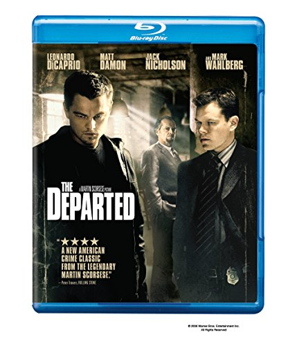 The Departed [Blu-ray] (Famous Men With Moles On Their Face)