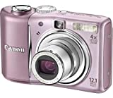 """Canon PowerShot A1100 IS 12,1 MP 1/2.3"""" CCD 4000 x 3000 Pixel Rosa"""