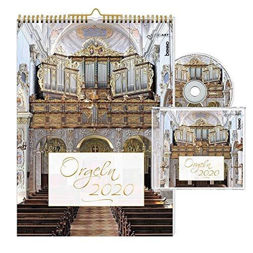 Orgeln 2020: Kalender mit CD