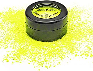 Stargazer Neon Yellow Eye Dust Vegan And Paraben Free Formula That Glows Under UV Light