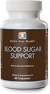 Thrive Now Health Blood Sugar Support, 60 Capsules