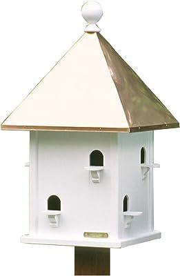Amazon Com Lazy Hill Cuadrados Casa Para Pájaros Jardín Y Exteriores