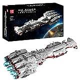 Technic Sci-Fi Star Wars Modelo de Nave Espacial Bloques de terminales, Bloques de construcción Modelo 2905 Piezas compatibles con Lego Static,62 * 20 * 12