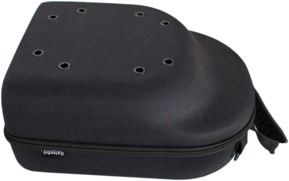 baobab Baseball Hat case Cap Carrier Case Holder for 6 Caps Hat Bag for Travel (Black)
