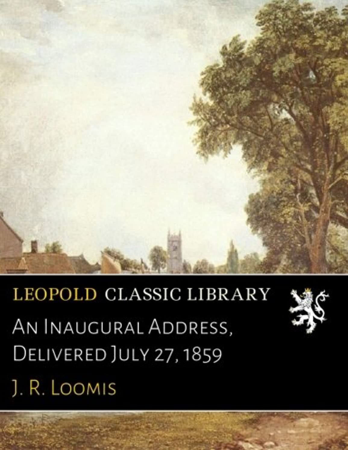 指オーバーフローメインAn Inaugural Address, Delivered July 27, 1859