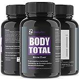 Body Total, Männer Power Pille, Testo-Booster Komplex/BRAIN - Hochdosiert - Muskelaufbau...
