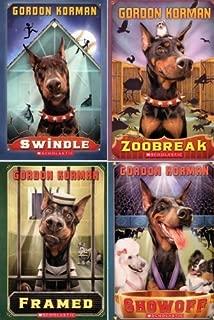Swindle 4 Book Set: Swindle / Zoobreak / Framed / Showoff (Swindle) by Gordon Korman (2013-05-03)