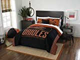 The Northwest Company Officially Licensed MLB Baltimore Orioles Grandslam Full/Queen Comforter and 2 Sham Set