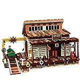 ColiCor Arquitecture Building Sets Set de construcción de modelos de tienda de pesca, 2027 piezas de arquitectura de bloques de construcción de juguetes, compatible con Lego