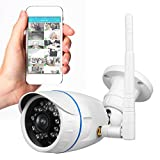 Outdoor Wireless IP Camera - HD Network Security Surveillance Home Monitoring System