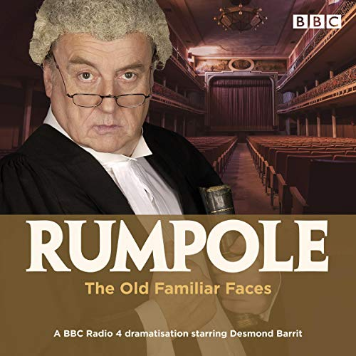 Rumpole and the Old Familiar Faces cover art
