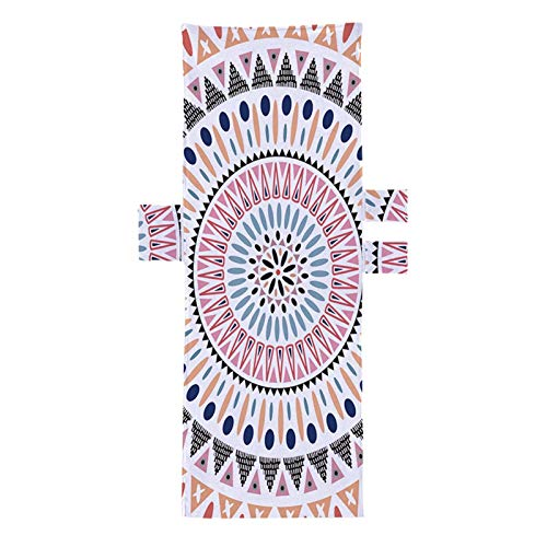 Toalla para sillón de playa, con bolsillo lateral, 210 x 73 cm, cubierta para tumbona de patio (color 5)
