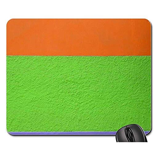Mauspad Wandfarbe Grün Orange Violett Helle Textur Mauspad Mousepad Mauspad Mauspads Spielmatte 25X30cm