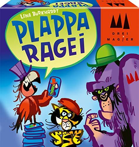 Schmidt Spiele 40892 Plapparagei, DREI Magier Kartenspiel, bunt