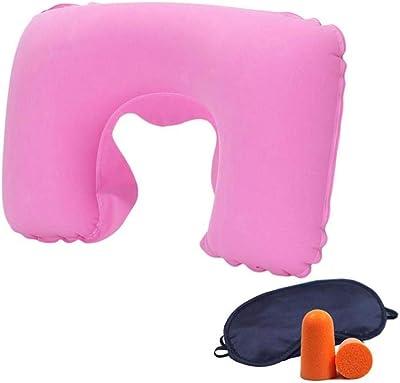 Amazon.com: Gfbyq Almohada cervical hinchable con bolsa de ...