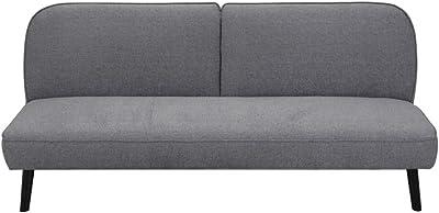 Danube Home Yuki 3 Seater Turkey Fabric Sofa - Dark Grey