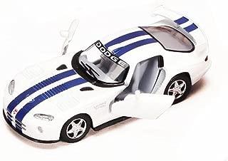 Dodge Viper GTS-R, White - Kinsmart 5039D - 1/36 scale Diecast Model Toy Car