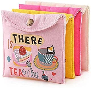 MOHANKHEDA Sanitary Napkin pad Pouch Organiser Storage for Women 1Pc Assorted Color