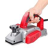 Cepillo eléctrico manual con afilador de cuchillos, 1000 W, ancho de la cepilladora 82 mm, grosor de la espiga 1-2 mm