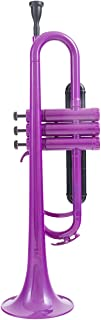 Kaizer Plastic Trumpet Polymer Purple 1000 Series with Case & Accessories PLY-TRP-1000PL