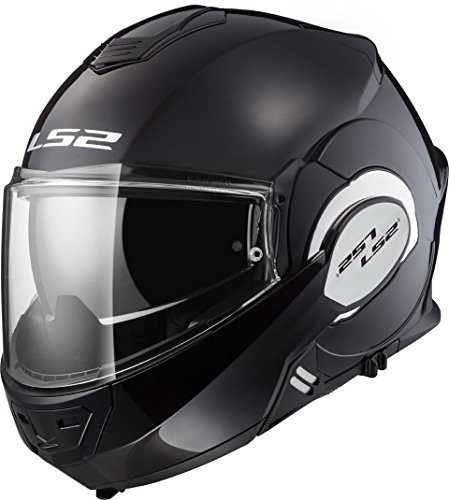 LS2, Motorradhelm VALIANT schwarz, XXXL