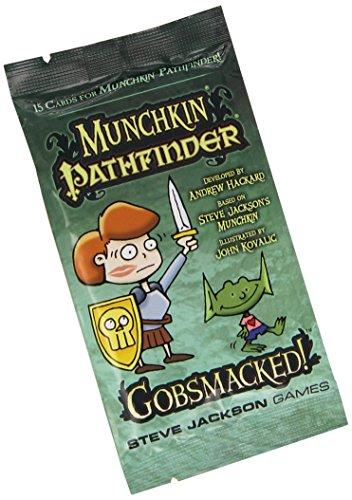 Steve Jackson Games 4422 - Munchkin Pathfinder: Gobsmacked Booster Brettspiele