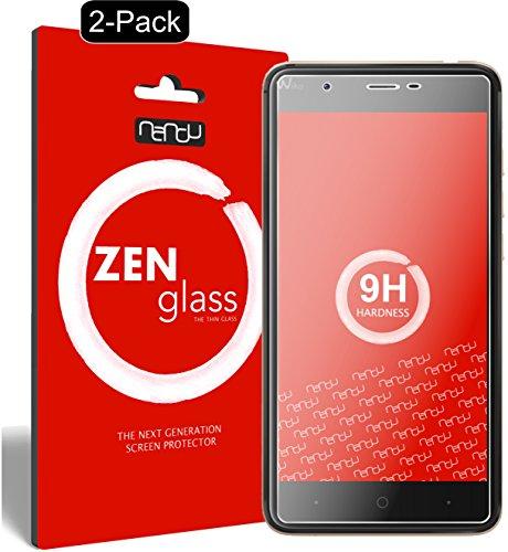 ZenGlass [2 Stück Flexible Glas-Folie kompatibel mit Wiko Harry Panzerfolie I Bildschirm-Schutzfolie 9H I (Kleiner Als Das Gewölbte Bildschirm)