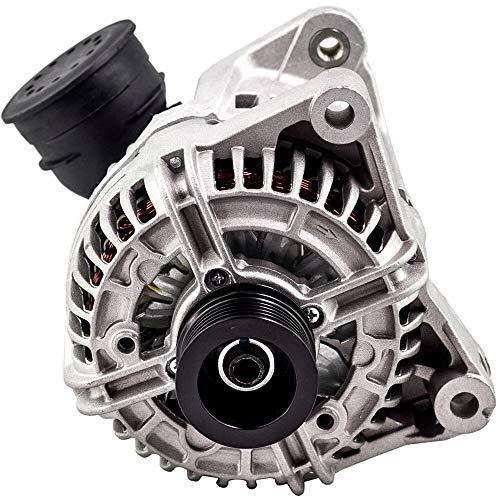 LZZJ Alternadores Generadores de alternador de automóviles 6 Costillas para BMW 330ci 330i 330xi 3.0 E46 M54 / 306S3 (E46) M52B28 2979CCM DRA4056 12311432986