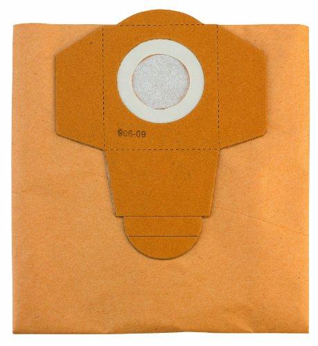Einhell Original Bolsa de suciedad de 25 L (adecuada para la aspiradora Einhell de secado en húmedo, 5 piezas incluidas)