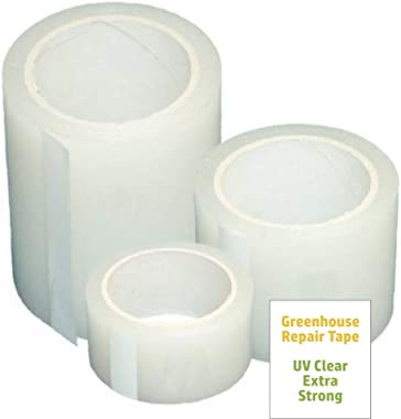 A&A Green Store Greenhouse Plastic Poly Permanent Repair Tape UV Clear (2 in. x 54 ft.)