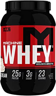 MTS Machine Whey Protein (2lbs, Cookies & Cream)