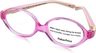 Fisher-Price Rectangular Lens Plastic Medical Glasses for Kids - Purple