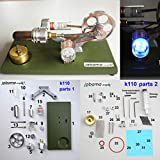 jabama Bausatz Stirlingmotor mit LED