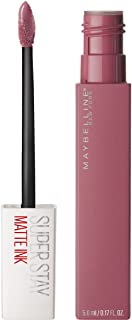 Maybelline Makeup SuperStay Matte Ink Liquid Lipstick, Lover Liquid Matte Lipstick, 0.17 fl oz
