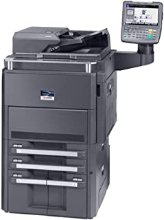 Kyocera TASKalfa 6550ci Color Copier Printer Scanner All-in-One MFP - 11x17, 12x18, Auto Duplex, 65 ppm, 2 Trays and Stand (Renewed)