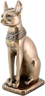 Egyptian Bronze Bastet Cat Figurine Decoration